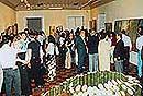 """「八十山雅子・和代展」 """"ブラジル日本移民90年記念祭"""" 国際交流基金助成事業"""